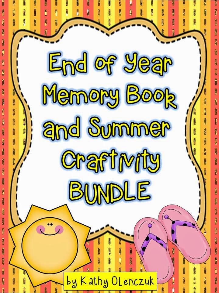 http://www.teacherspayteachers.com/Product/End-of-Year-Memory-Book-and-Summer-Craftivity-688066