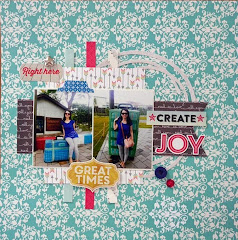 July's Featured Layout Scrapper!