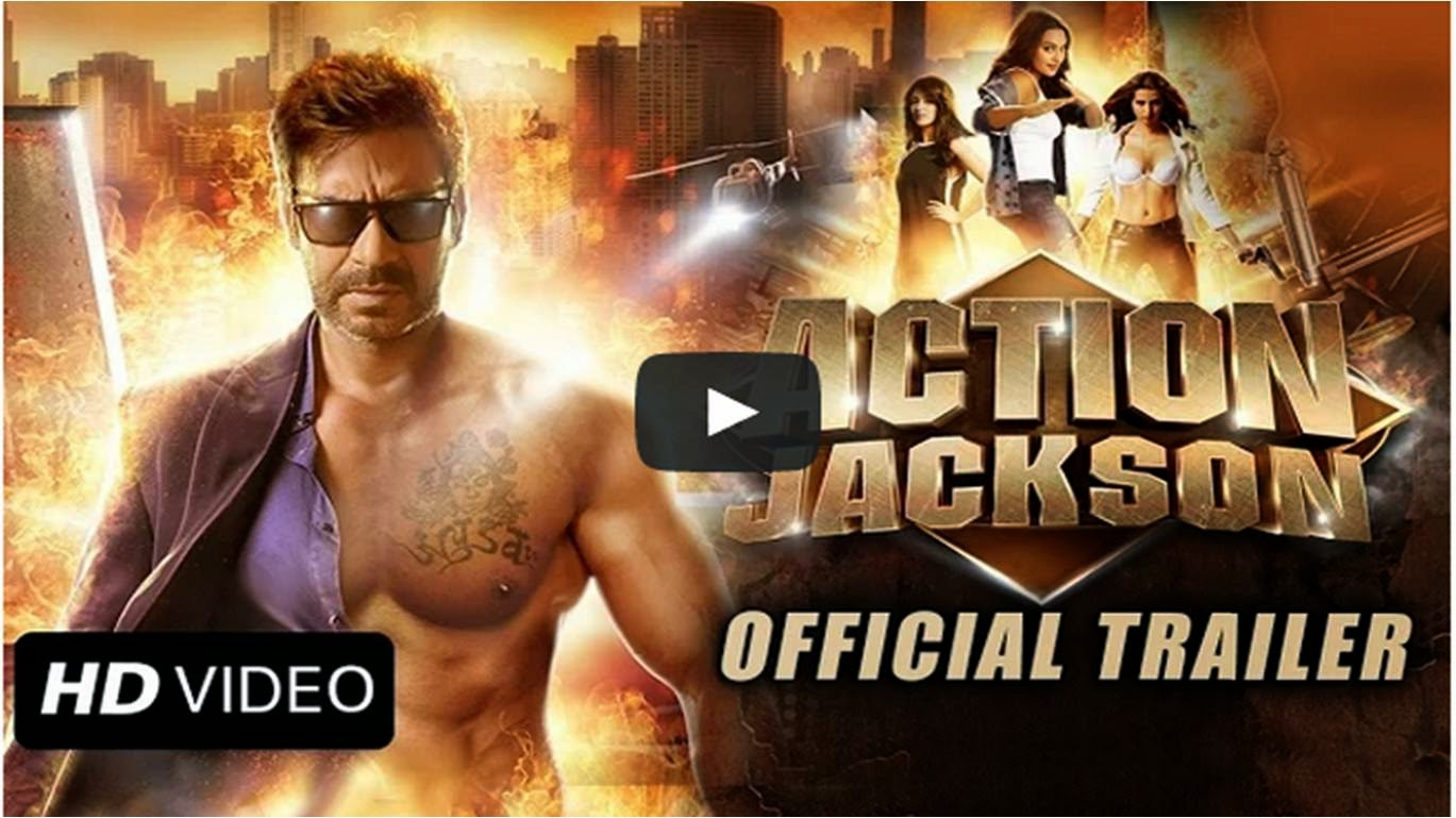 Action Jackson Trailer featuring Bollywood hero Ajay Devgn showing his body