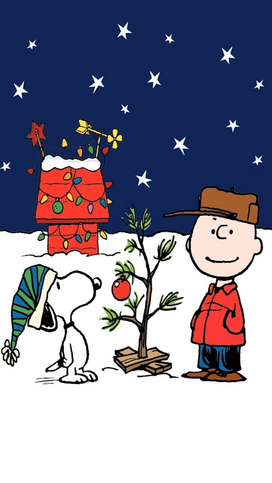 Peanuts Charlie Brown Christmas  Galaxy Note HD Wallpaper