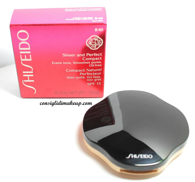 Review: Fondotinta Sheer and Perfect compatto - Shiseido