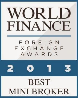 anugerah exness, exness award Best Mini Broker 2013 World Finance
