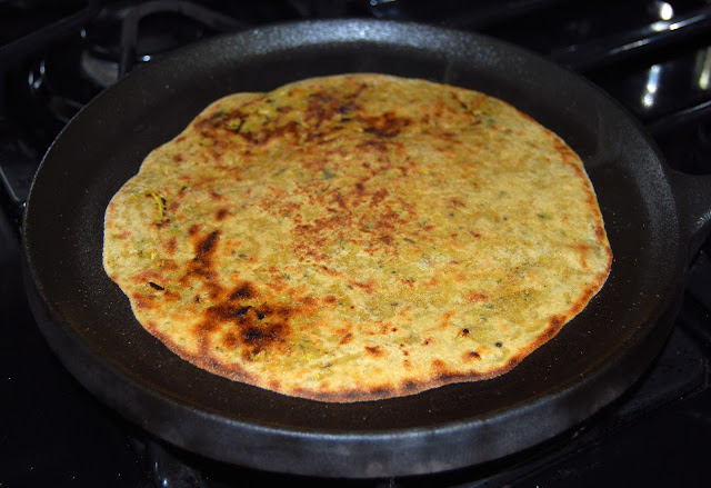 Gobi Paratha, stuffed cauliflower paratha
