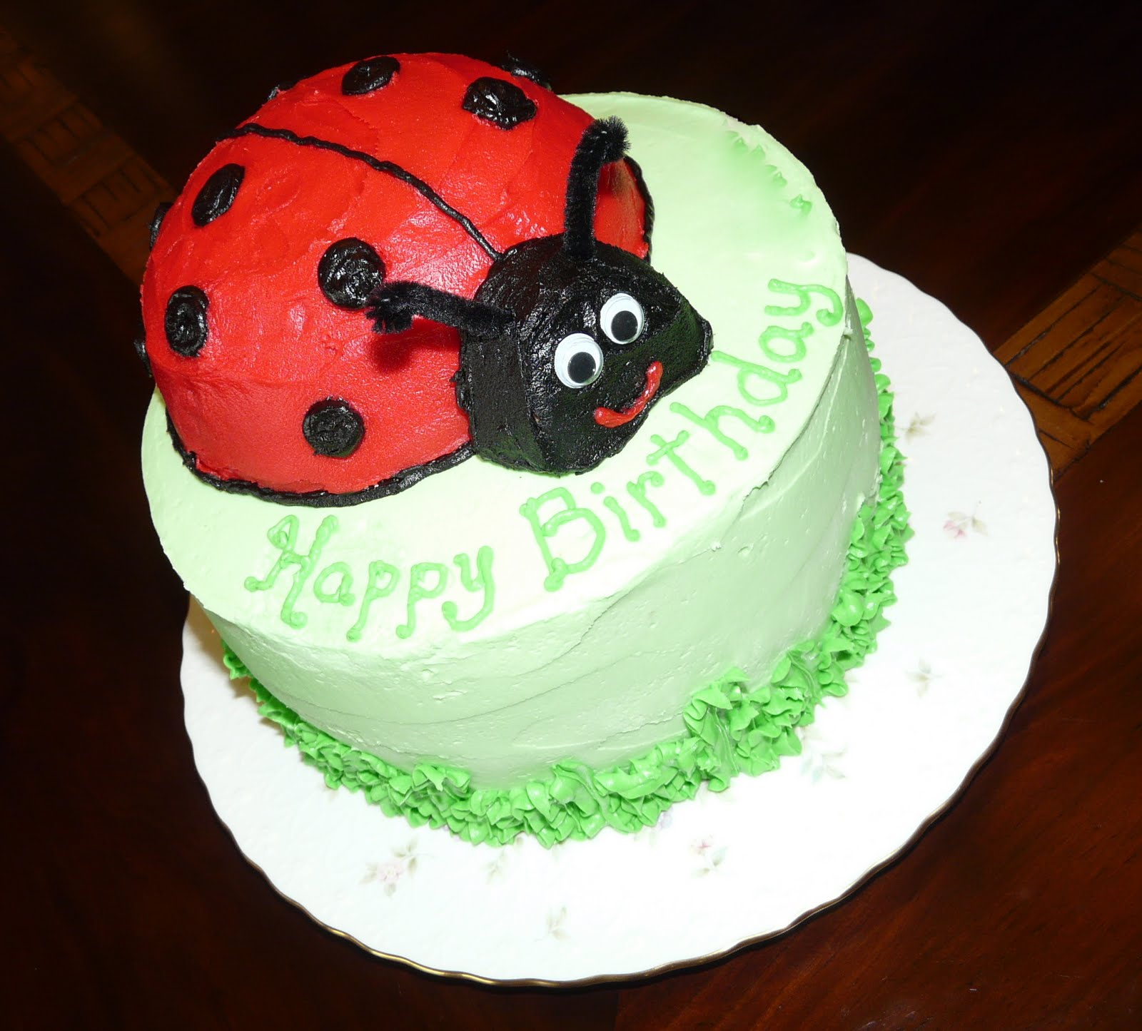 A Ladybug Birthday Cake Celebrate Every Day With Me