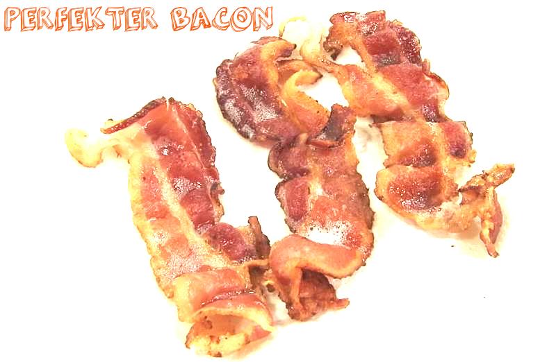 Atomlabor British Gourmet Tipp : Perfekter Breakfast Bacon durch Wasser