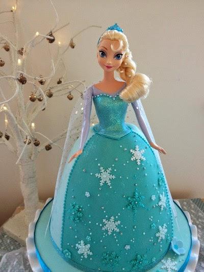 Tortas de Frozen, parte 1