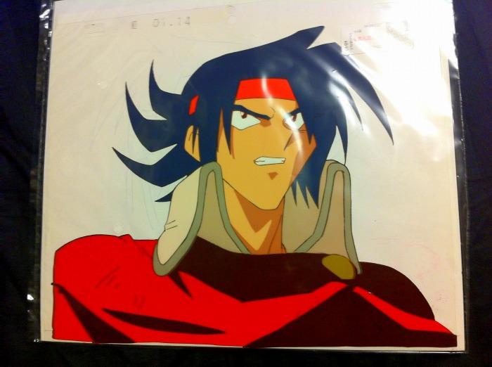 There was me that is some new anime cell sheets for Domon vs master asia