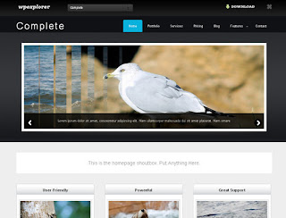 Complete Free Business & Portfolio WordPress Theme
