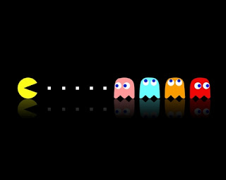 Pac-Man video game, Pacman name logo, how pacman created