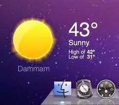برنامج bright weather لمعرفة الطقس للاندرويد