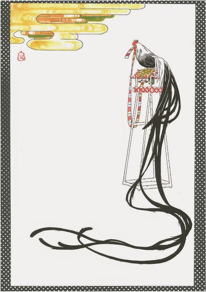 Illustrationen und Zeichnungen von Karin Nagao, Auron Zoe und Marie Kataoka