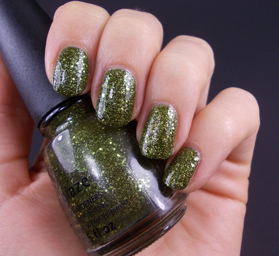 china glaze it's alive haunting halloween collection 2011 swatch
