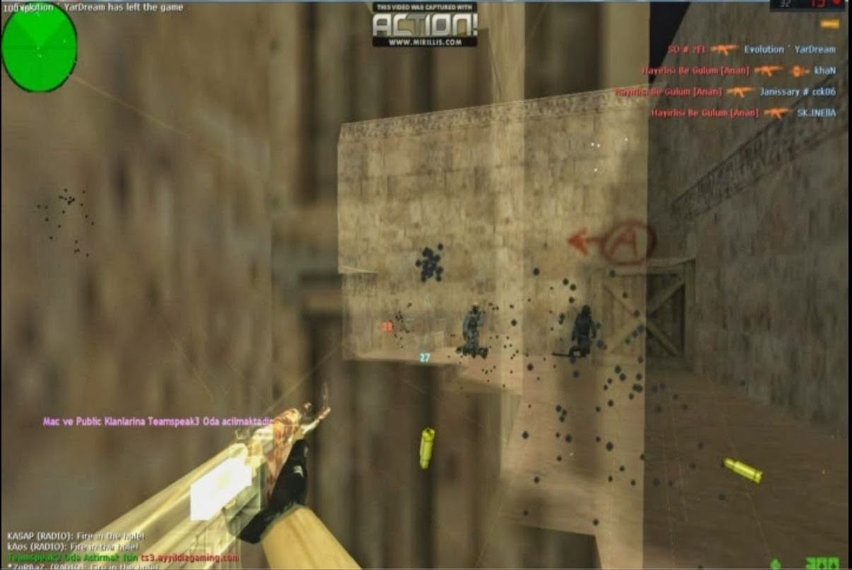 Counter Strike 1.6 Sxe 15.1 Fix Wall Hack Hilesi 09.03.2014