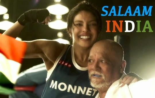 Salaam India Lyrics from Mary Kom | Salim Merchant, Vishal Dadlani