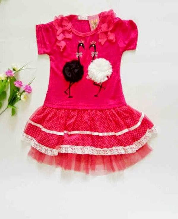 Contoh dress korea baju anak perempuan import