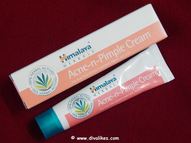 Himalaya Herbals Acne-n-Pimple Cream Review | Diva Likes