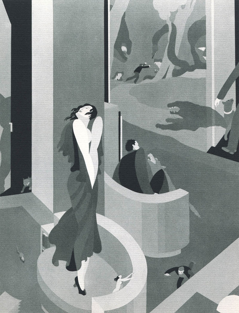 nuncalosabre.Las Fobias Ilustradas - John Vassos