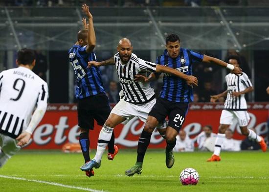 Internazionale 0 x 0 Juventus - Calcio 2015/16