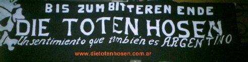 Die Toten Hosen Argentina !!!