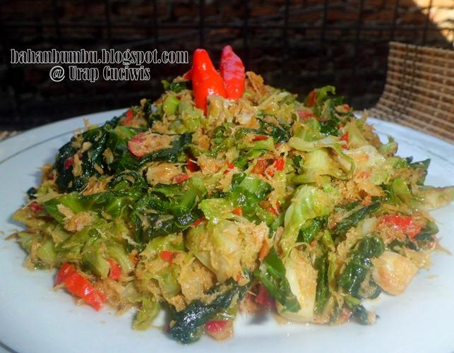 Resep Urap Sayur Cuciwis Enak Pedas Sederhana | Bahan Bumbu Aneka ...