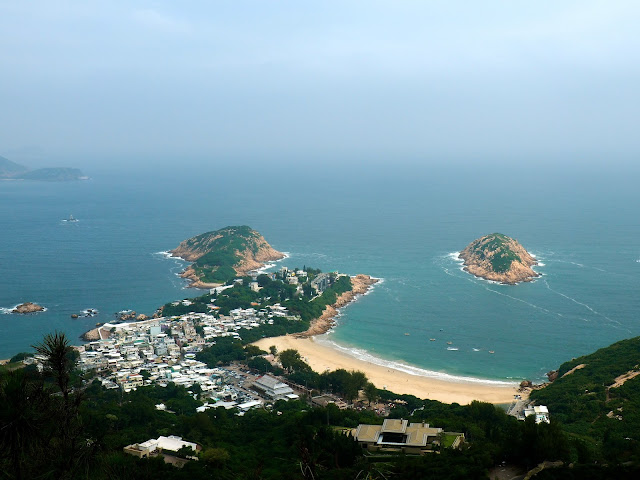 View of Shek O from Dragon' Back, Hong Kong Island