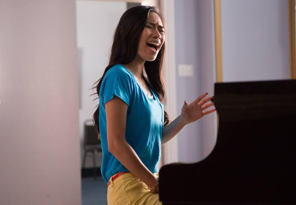 Jessica Sanchez as Frida Romero in Glee Season 4