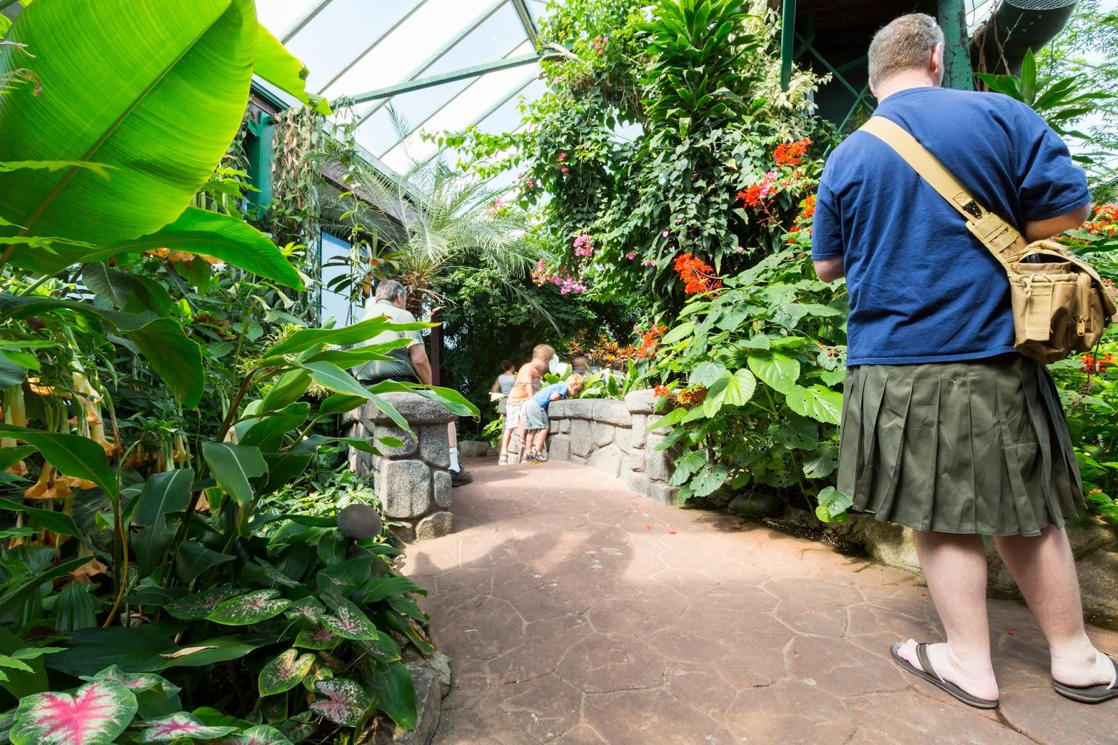 Bon Victoria Butterfly Gardens (Part 1)   Central Saanich, BC