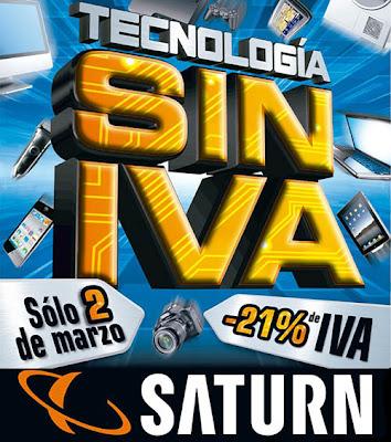 Día sin iva en Saturn 2013 Tecnología