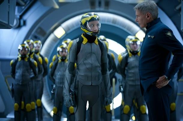 """Asa Butterfield y Harrison Ford en """"El Juego de Ender"""" [Crítica]"""