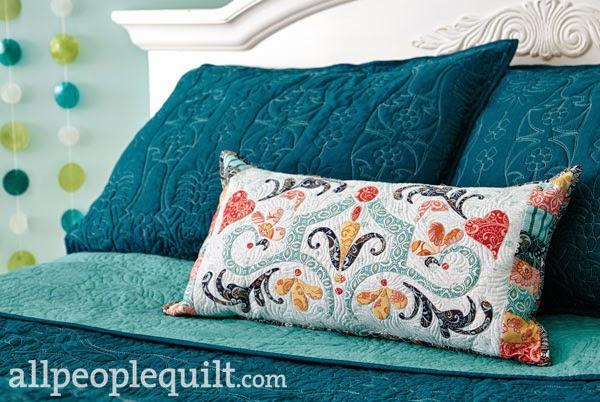 Amanda Murphy Design: APQ Modern Lace Pillow
