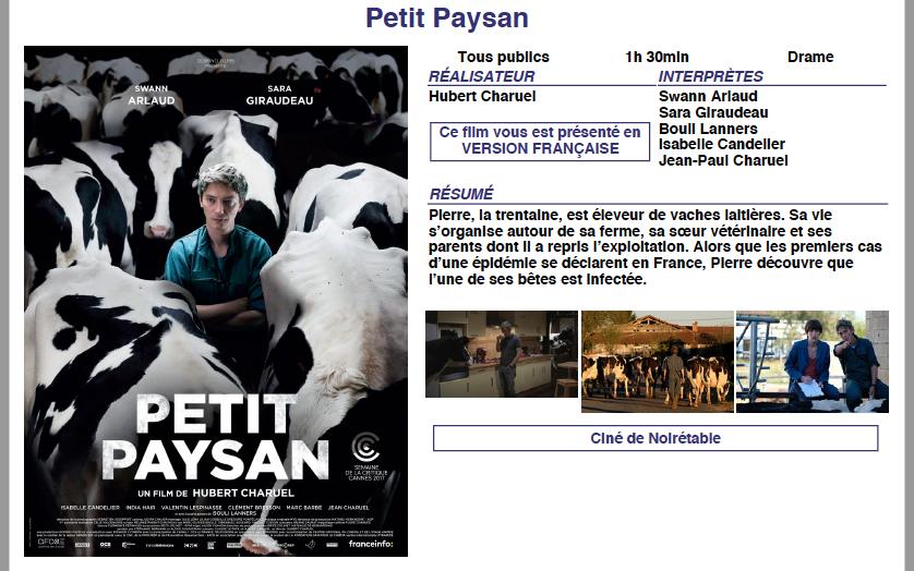 PETIT PAYSAN