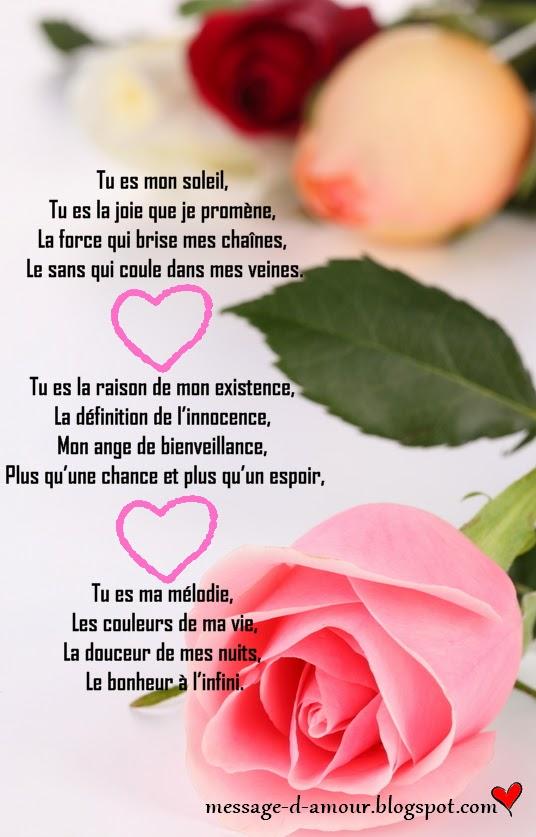 Préférence Jolies poèmes d'amour - Message d'amour RM87