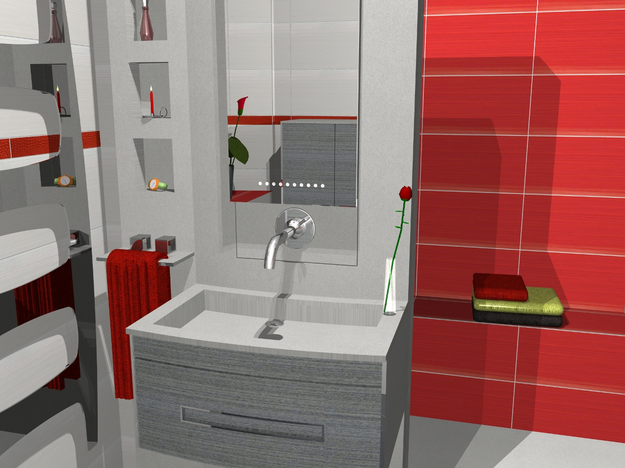 Espace bain agencement de salles de bain la troisi me - Salle de bain de 3m2 ...