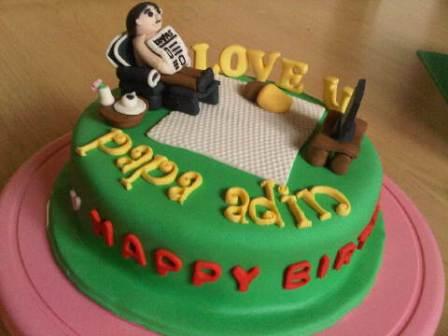 itsybitsybite Birthday Cake untuk Papa
