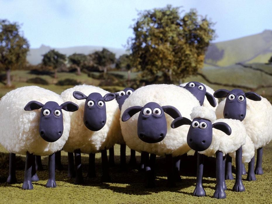 Shaun the Sheep, Gambar Kartun 2