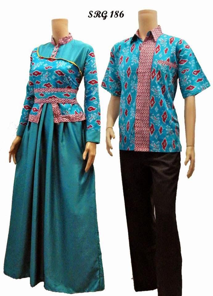 Model Baju Batik Gamis Jogja