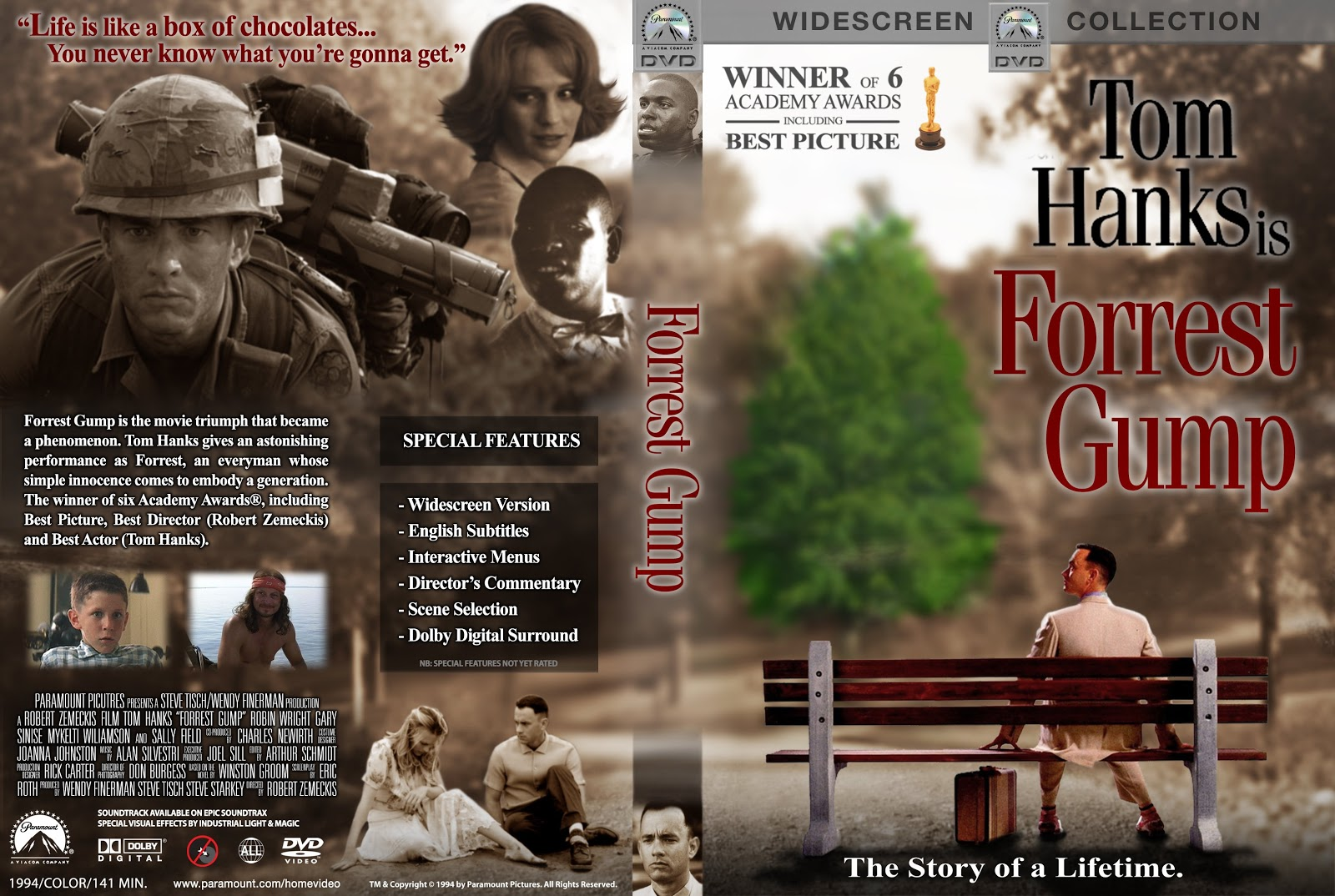 forrest gump film essay You have not saved any essays forrest gump is the story of a man who overcomes numerous obstacles throughout different stages of his life and always seems to see the brighter side of things in the process through the movie's entirety, outstanding performances from various award winning actors.