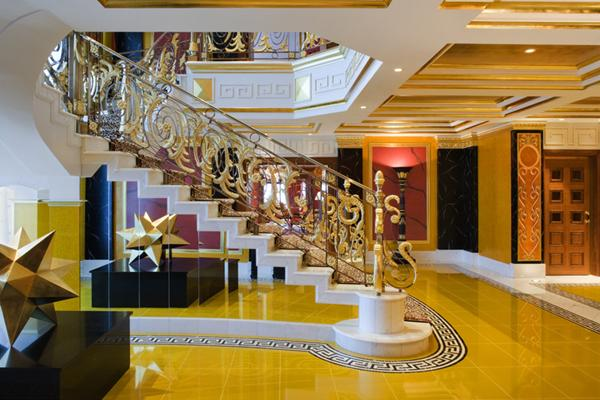 hotel burj al arab interior