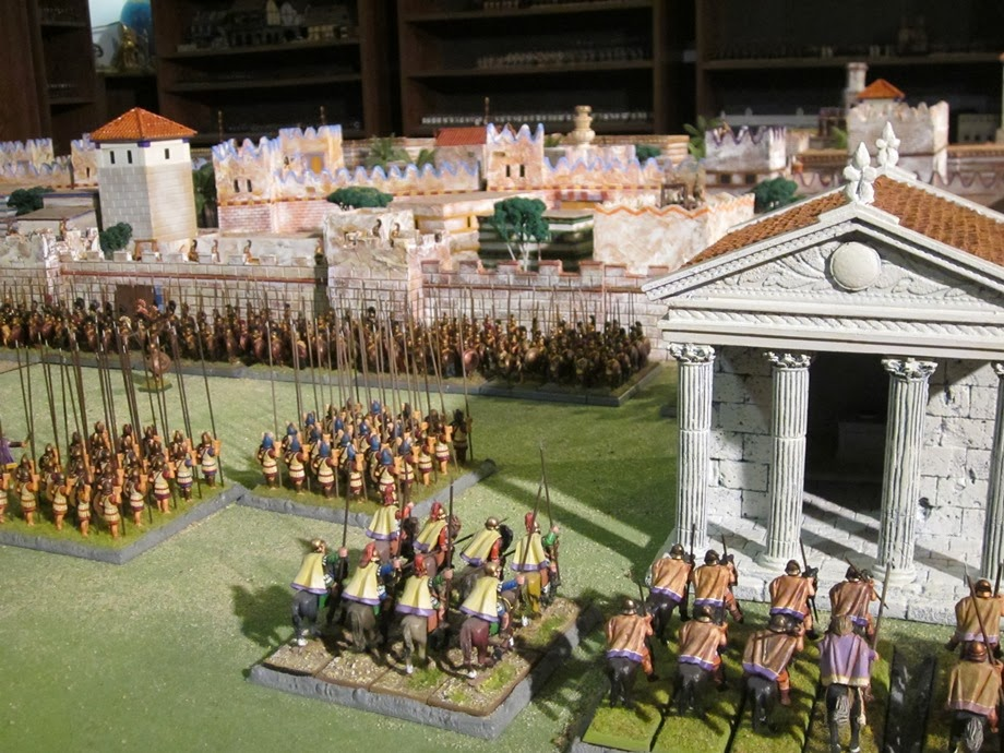 Tides Of War Paint Bench Grand Manner 28mm Greek Temple