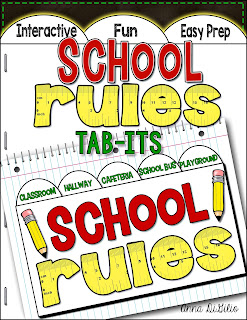 school rules activitiy