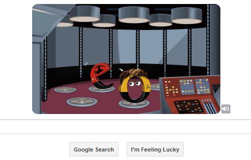 Star Trek Google Doodle 4