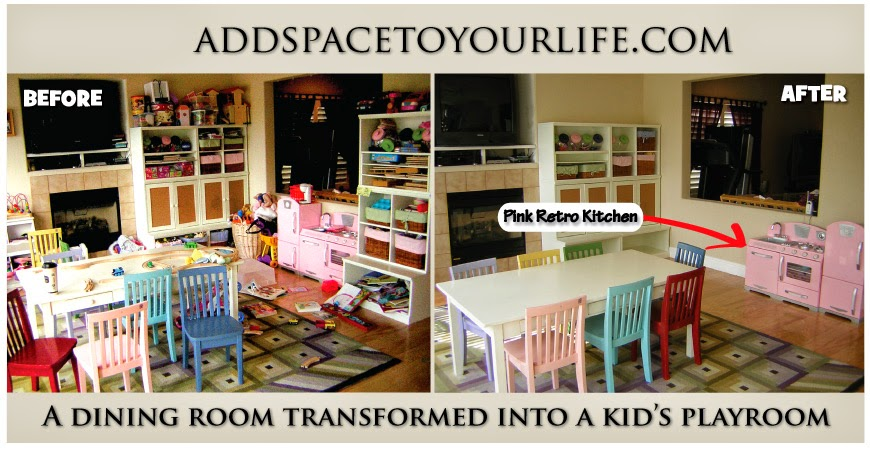 KidKraft Toys Furniture A Dining Room Transformed Into A Kid S Playroo