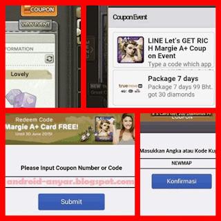 Kode Kupon LINE Get Rich: Margie A+ Card Free dan Trik Diamond Gratis