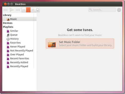BeatBox : Ubuntu Music Player With Smart Playlist Editor & Album Art Support