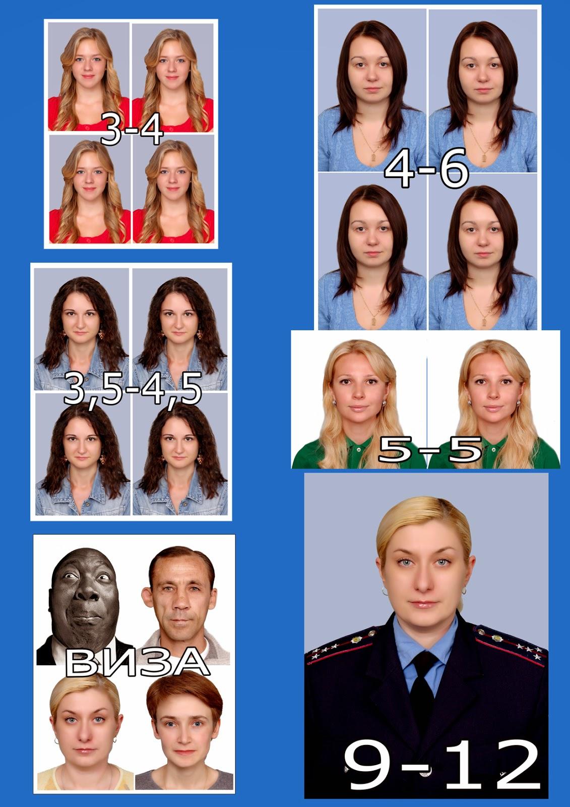 Фото на паспорт киев