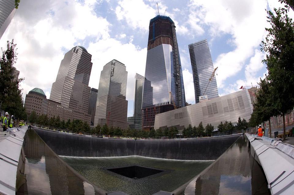 Piscina do Memorial Nacional 11/09.