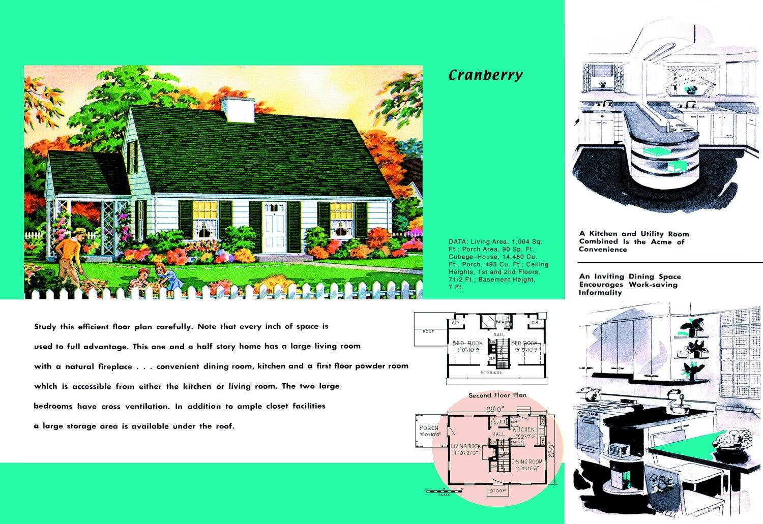 1950s dream home today home lust for Cape cod blueprints