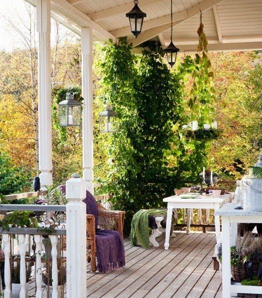 La guarida de bam porches r sticos - Porches rusticos ...
