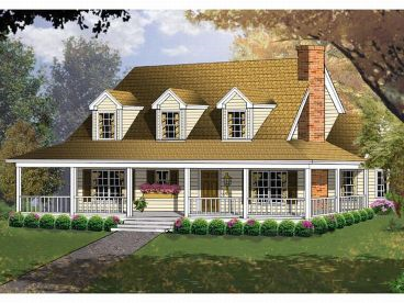 Eco friendly house country house plans for Country house designs