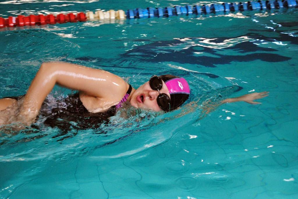 Maratonul de înot 24h AquaMASTERS. Comunicat de presă. Participantă